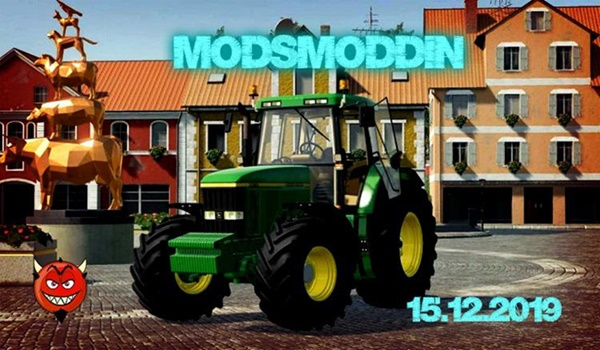 Photo of FS19 – John Deere 610/710/810 Traktör Modu V2