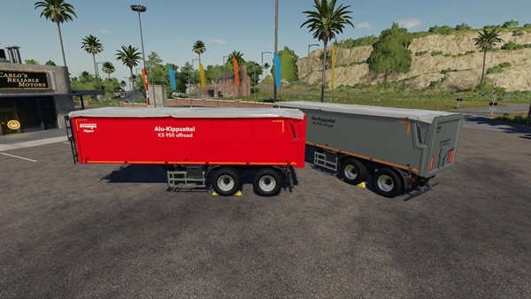 Photo of FS19 – Krampe KS 950 Römork V1.0