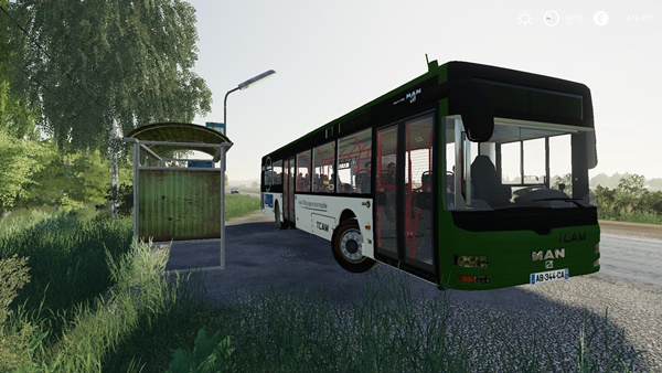 Photo of FS19 – Man Lions City Otobüs Modu V1.0