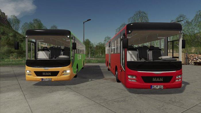 Photo of FS19 – Man Lions Intercity 2015 Model Otobüs Modu
