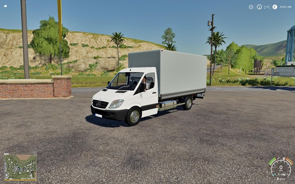 Photo of FS19 – Mercedes Sprinter Modu