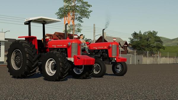 Photo of FS19 – Massey Ferguson 95X E 65X Traktör