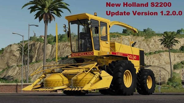 Photo of FS19 – New Holland S2200 Biçerdöver V1.2