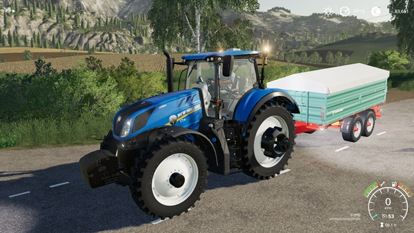 Photo of FS19 – New Holland T7 Traktör
