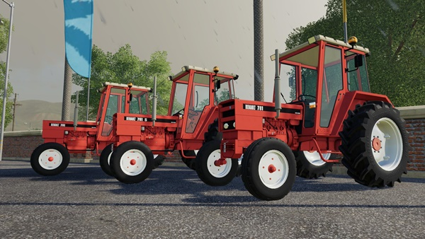 Photo of FS19 – Renault 751 751S 781 Kırmızı Traktör