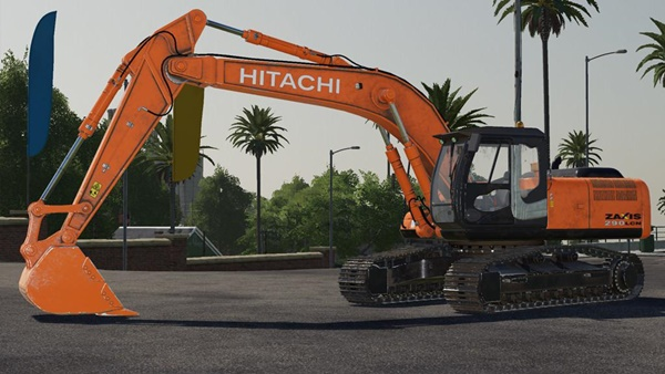 Photo of FS19 – Hitachi ZX90LC Ekskavatör