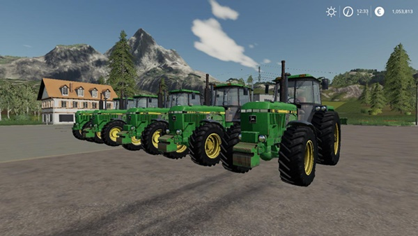 Photo of FS19 – John Deere Eski Model 4XXX Serisi V2