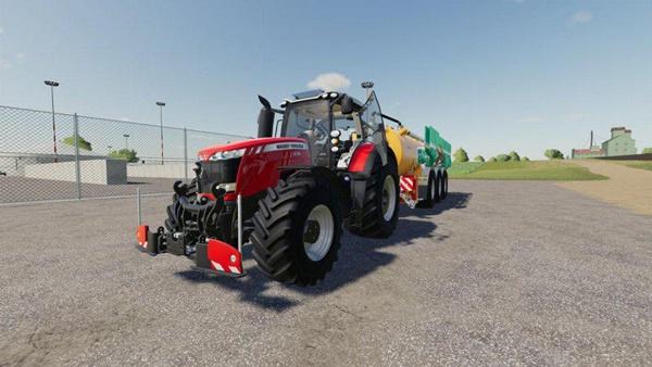 Photo of FS19 – Massey Ferguson 8700 Traktör V1.0.1.0