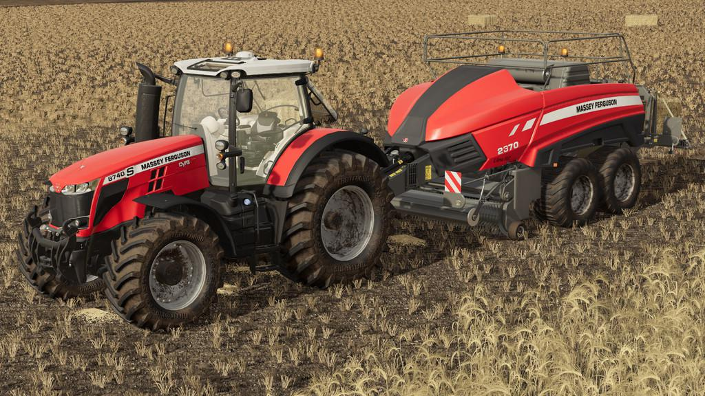 Photo of FS19 – Massey Ferguson 8700S Traktör V1.1