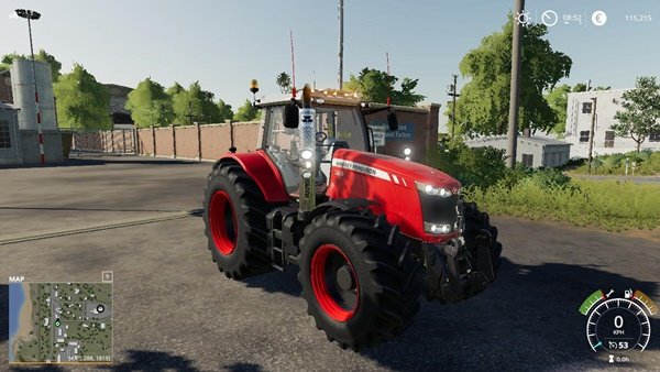 Photo of FS19 – Massey Ferguson 7700 Traktör Modu
