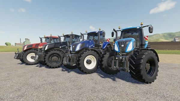 Photo of FS19 – New Holland T8 Traktör V1.0.1.0