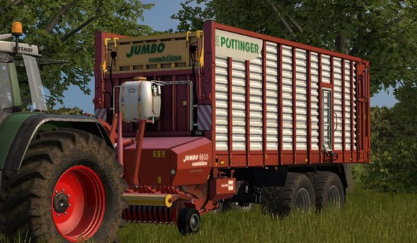 Photo of FS17 – Pottinger Jumbo Combiline Yem Römorku V2