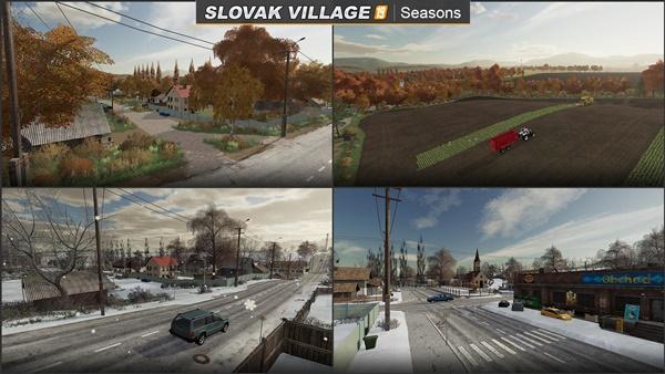 Photo of FS19 – Slovakya Köy Haritası