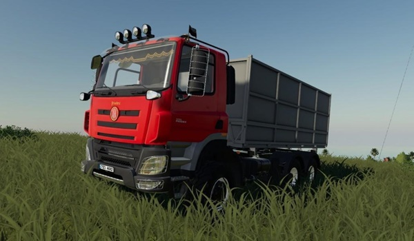 Photo of FS19 – Tatra Phoenix E6 Kamyon Modu V2