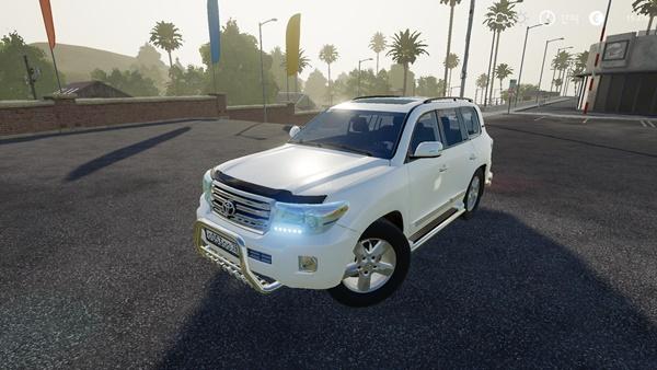 Photo of FS19 – Toyota Land Cruiser 200 2013 Model V8 Araba Modu V2