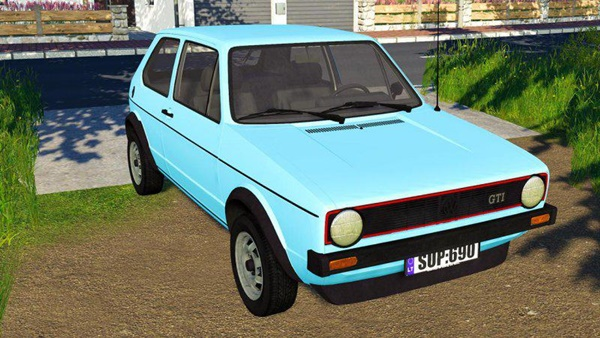Photo of FS19 – Volkswagen Golf MK1 Araba Modu