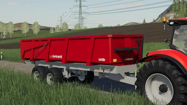 Photo of FS19 – Brimont BB18BB Römork Modu