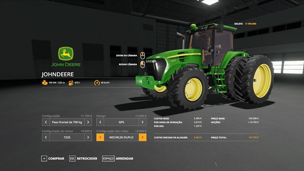 Photo of FS19 – John Deere 7J Traktör Modu
