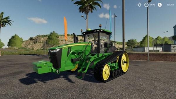 Photo of FS19 – John Deere 8RT Modifiyeli Traktör