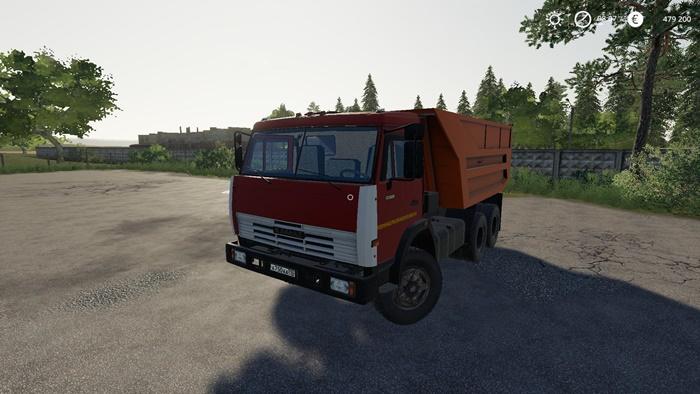 Photo of FS19 – Kamaz 55111 Kamyon Modu V1.3