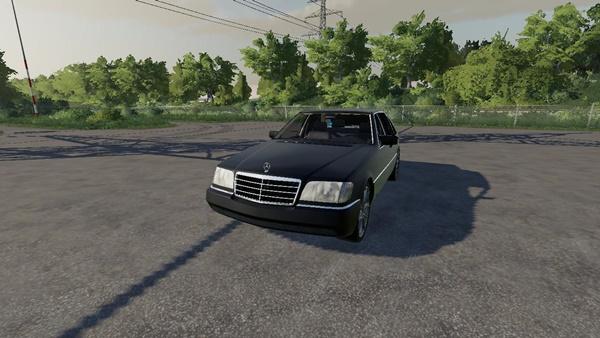 Photo of FS19 – Mercedes-Benz W140 Araba Modu V2