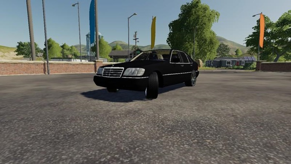 Photo of FS19 – Mercedes-Benz W140 Araba Modu