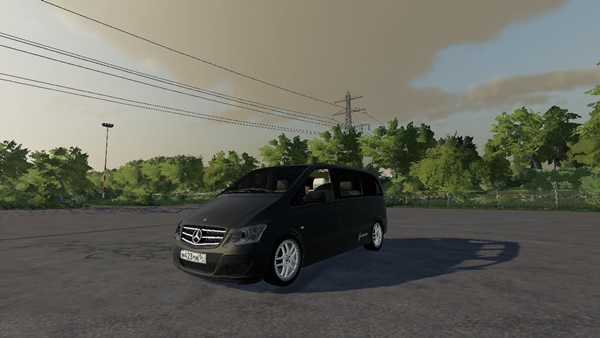 Photo of FS19 – Mercedes Viano V6 Araba Modu