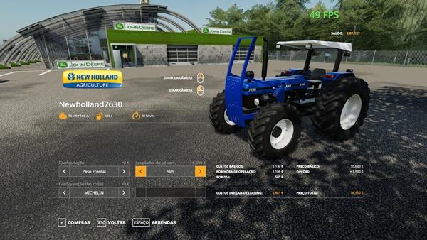 Photo of FS19 – New Holland 7630 Traktör Modu