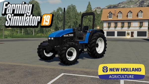 Photo of FS19 – New Holland TS90 Traktör Modu V2.1