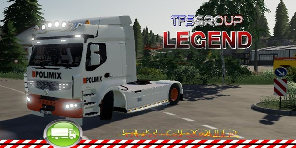 Photo of FS19 – Renault Premium Polimix V1.5.0.1