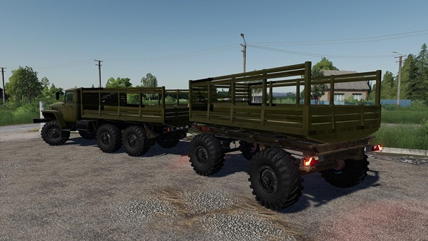 Photo of FS19 – Ural 4320 Kamyon Modu