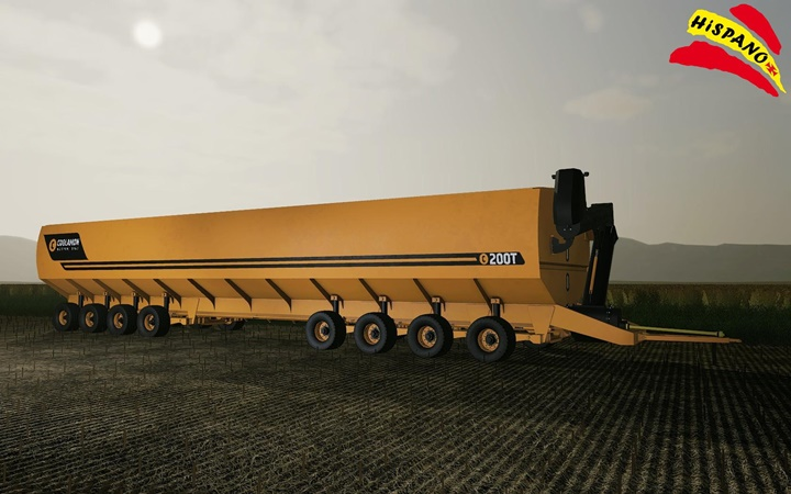 Photo of FS19 – Coolamon Mother Bins 200T Römork Modu