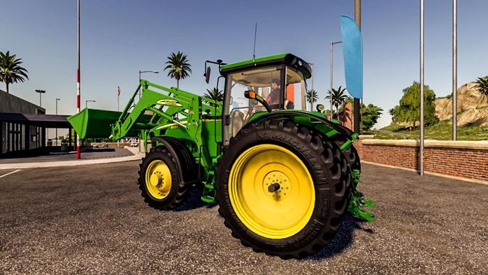 Photo of FS19 – John Deere 8030 Traktör + 843 Yükleyici