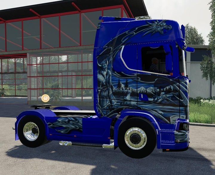 Photo of FS19 – Scania NG Schtroumpf Kamyon Modu
