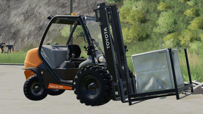 Photo of FS19 – Toyota 2T5 Triplex 4M70 Forklift Modu