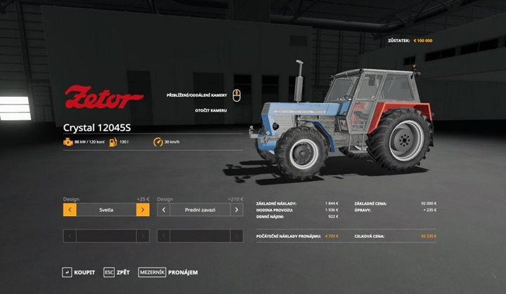 Photo of FS19 – Zetor Crystal 12045 Traktör Modu