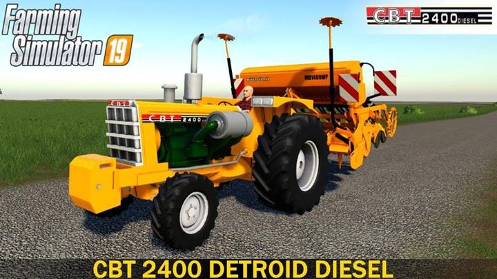 Photo of FS19 – CBT 2400 Traktör Modu V2