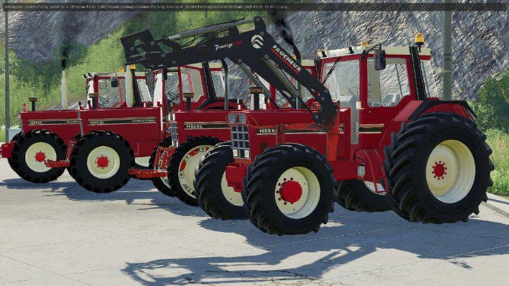 Photo of FS19 – Case International 1455XL Traktör Modu