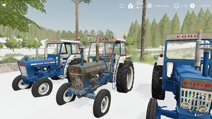 Photo of FS19 – Ford 7000 Euro Yıpranmış Traktör V2