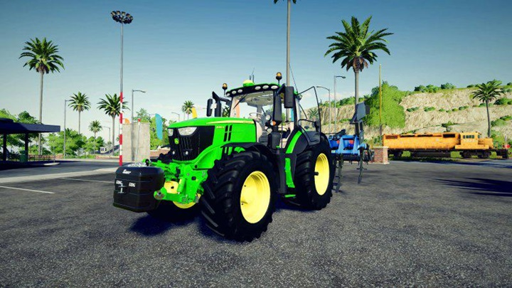 Photo of FS19 – John Deere 6R Serisi V1.0.0.1