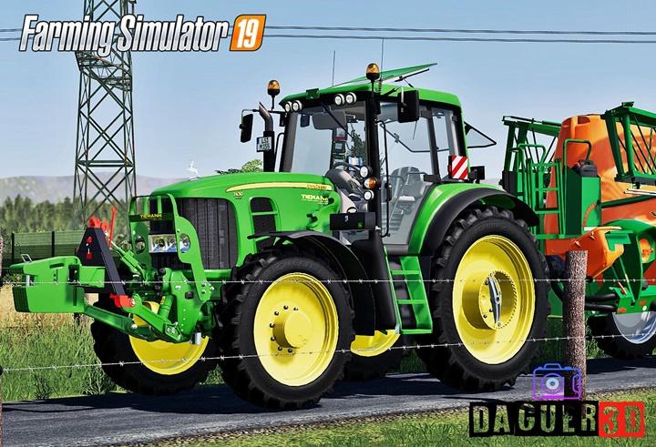 Photo of FS19 – John Deere 7430/7530 Premium Traktör V2.0