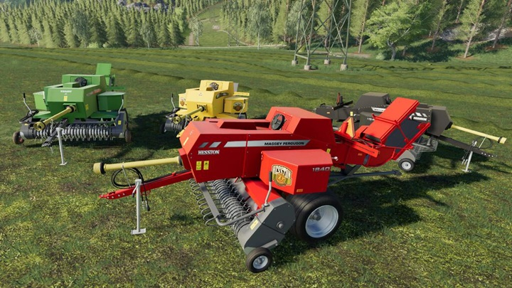 Photo of FS19 – Massey Ferguson Hesston 1840 Balya Makinası