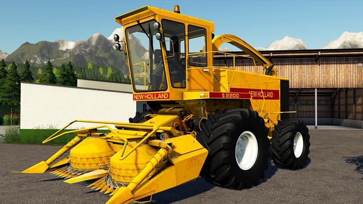 Photo of FS19 – New Holland S2200 Biçerdöver Modu V1.3