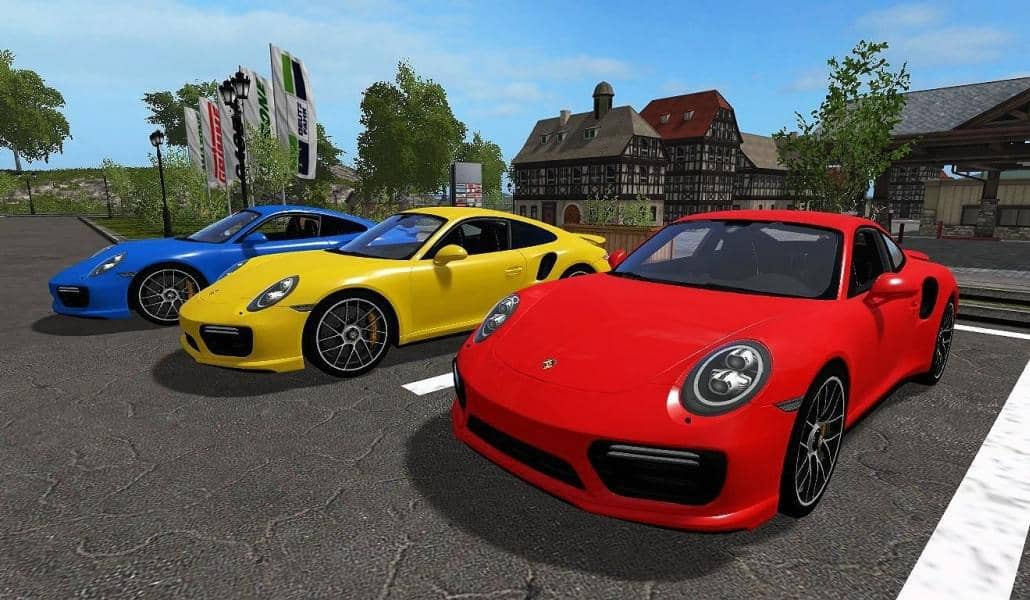 Photo of FS19 – Porsche 911 Turbo S 2018 Araba Modu
