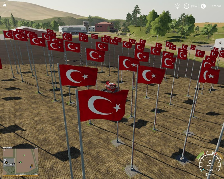 Photo of FS19 Türk Bayrağı V1.5