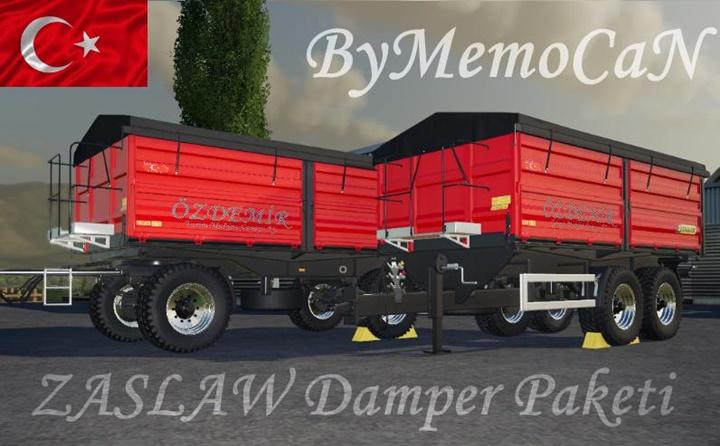 Photo of FS19 – Zaslaw Damper Paketi V1.6