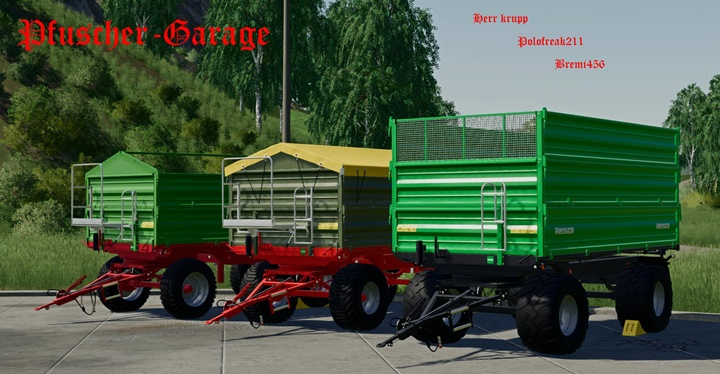 Photo of FS19 – Drehschemel 8T Damperli Römork