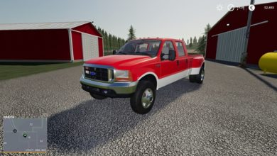 Photo of FS19 – Ford F350 2000 Model