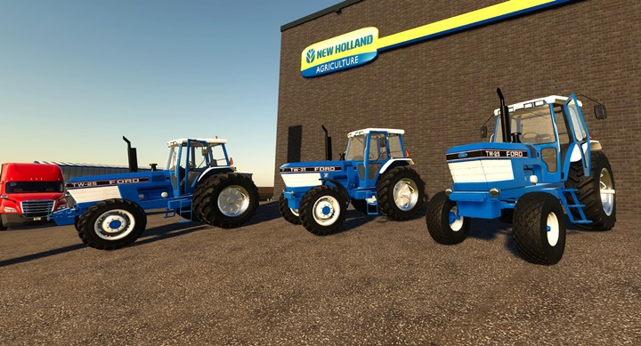 Photo of FS19 – Ford TW Serisi Amerikan Paketi