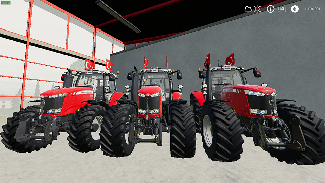 Photo of FS19 – Massey Ferguson 7700 Türkiye V1.3